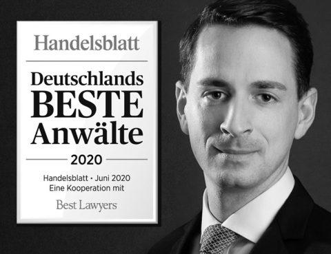 Handelsblatt Deutschlands beste Anwälte 2020